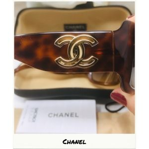 Chanel | Brown Tortoise Sunglasses - 6018